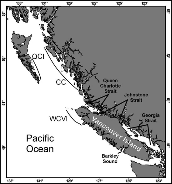 Map of British Columbia (see long description below).