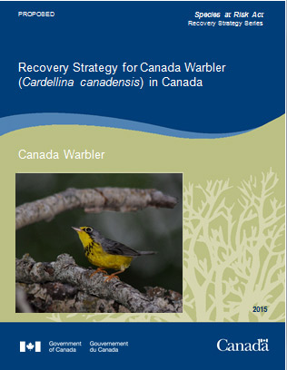 Canada Warbler report cover image